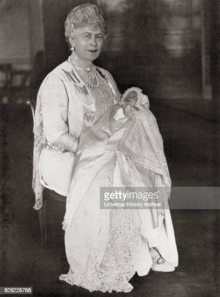 Mary of Teck holding her grandaughter Princess Elizabeth future Queen Elizabeth II May 1926 Mary of Teck 1867 – 1953 Queen of the United Kingdom and...