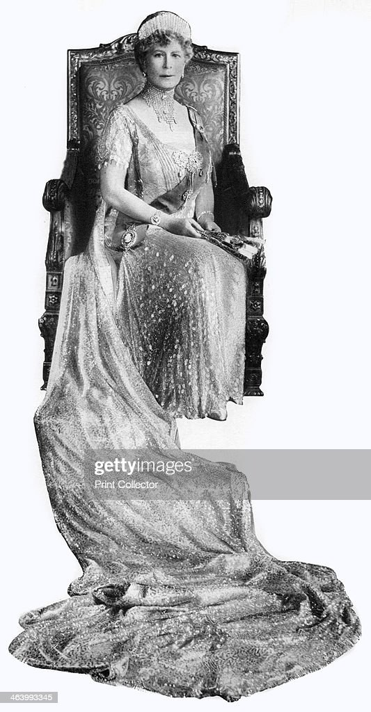 Mary of Teck, Queen Consort of George V of the United Kingdom, c1930s. : News Photo