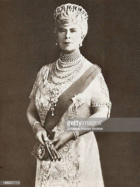 Mary Of Teck Victoria Mary Augusta Louise Olga Pauline Claudine Agnes 1867 – 1953 Queen Consort Of The United Kingdom As The Wife Of King George V...