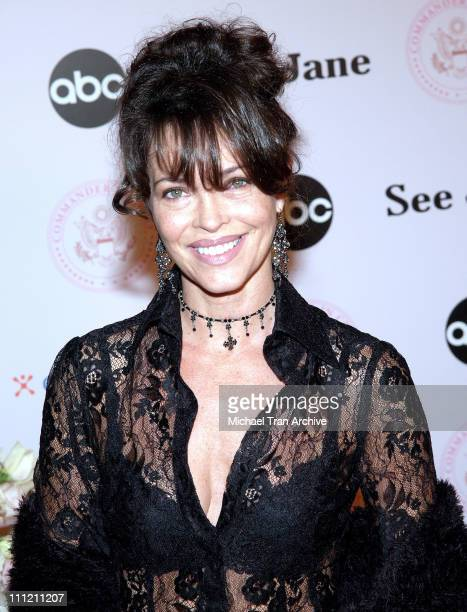 Mary Page Keller during CommanderinChief Inaugural Ball and Premiere Screening at Regent Beverly Wilshire in Beverly Hills California United States