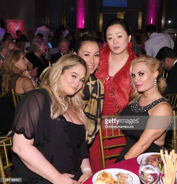 Mary Park and Coco Austin with guests attend at the Angel Ball 2019 hosted by Gabrielle's Angel Foundation at Cipriani Wall Street on October 28 2019...