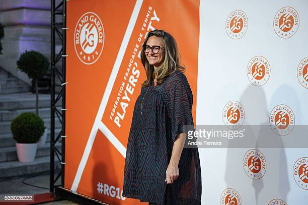 Mary Pierce during the photocall before the opening party of the French Open 2016 at Le Petit Palais on May 19 in Paris France