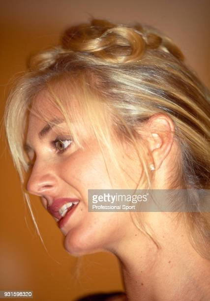 Mary Pierce of France attending the 18th Annual Women's Tennis Association Awards Banquet on August 29 1994 at the Bergdorf Goodman Parker Meridian...