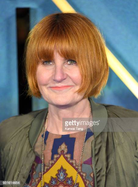 Mary Portas attends the European Premiere of 'A Wrinkle In Time' at BFI IMAX on March 13, 2018 in London, England.