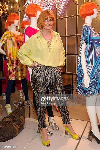 Mary Portas attends the launch of Advanced Style hosted by Mary Portas and Ari Seth Cohen at Mary's Shop, House of Fraser, Oxford Street on June 7,...