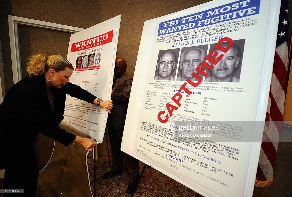 FBI Discusses Arrest Of Whitey Bulger In Los Angeles : News Photo