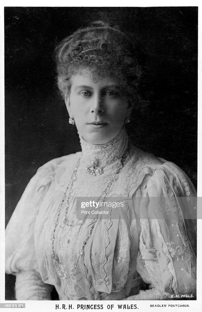 Mary, Princess of Wales, c1901-c1910(?).Artist: Ernest H Mills : News Photo