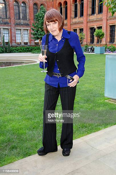 Mary Quant during Victoria and Albert Museum's 150th Anniversary Party - Inside at Victoria and Albert Museum in London, Great Britain.