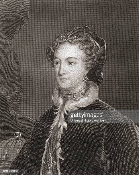 Mary Queen Of Scots 1542 – 1587 Aka Mary Stuart Or Mary I Of Scotland Queen Regnant Of Scotland And Queen Consort Of France From The History Of...