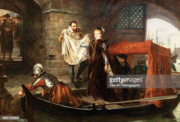 Mary Queen of Scots Arriving at the Tower of London by Robert Alexander Hillingford