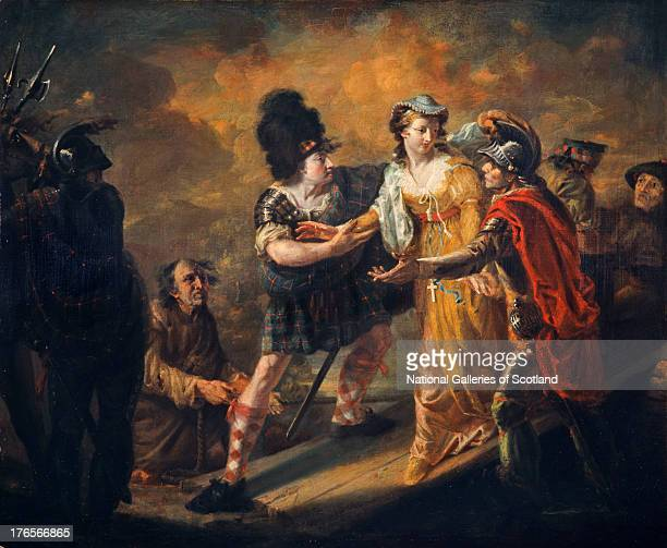 Mary Queen of Scots Escaping from Lochleven Castle, by William Craig Shirreff, 1805. Oil on canvas. .
