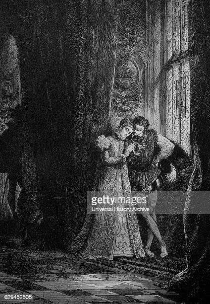 Mary, Queen of Scots, or Mary Stuart, Mary I of Scotland , with her Husband, Francis II of France.