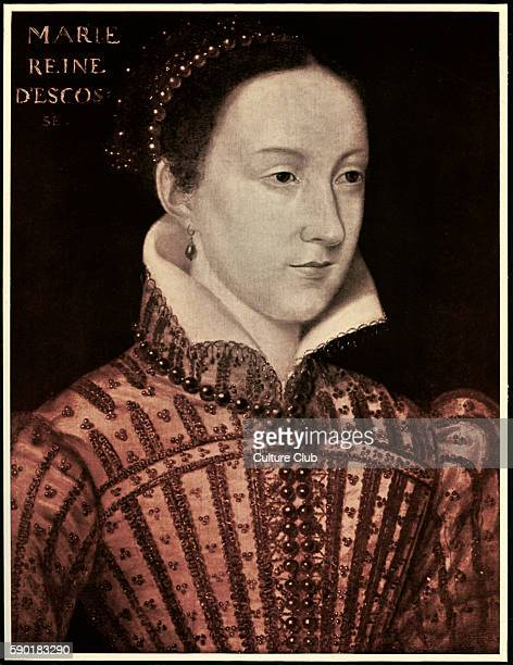 Mary Queen of Scots painted in 15001 Mary a catholic and rival cousin to Elizabeth's protestant regime was the mother of James I Herbert Norris...
