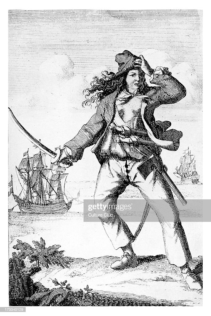 Mary Read - English female pirate : News Photo
