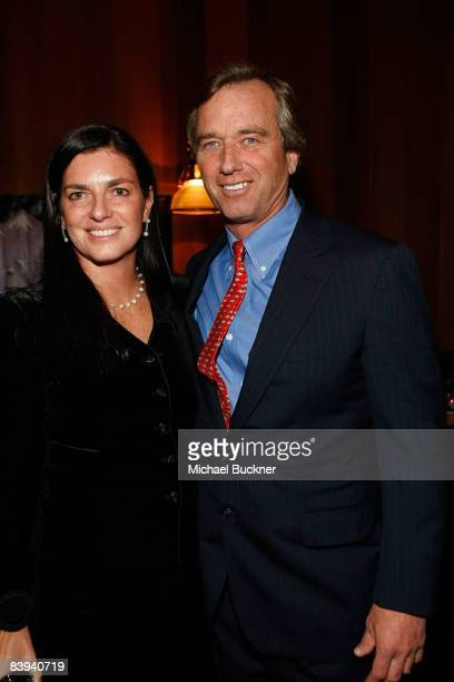 Mary Richardson and Robert F Kennedy Jr attend Juma Entertainment's 17th Annual Deer Valley Celebrity Skifest presented by Paul Mitchell and...