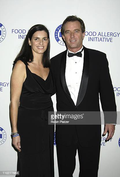 Mary Richardson and Robert F Kennedy Jr during The 2005 Food Allergy Ball Benefiting The Food Allergy Initiative Honoring Mario Batali Julia Koch and...