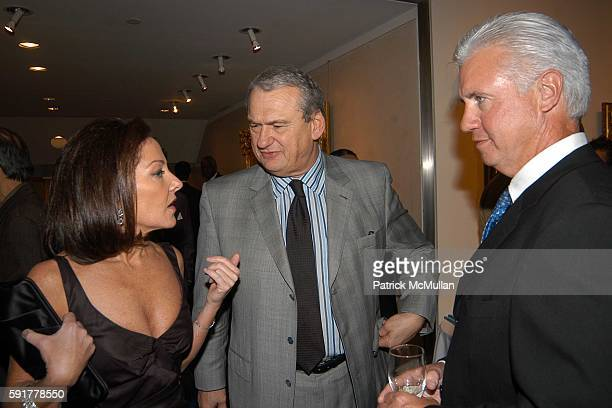 Mary Richardson Kennedy Julia Koch and Sharyn Mann attend Kickoff Party for The Food Allergy Ball 2005 Honoring Mario Batali at Daniel on October 25...