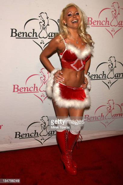 Mary Riley during 1st Annual Benchwarmer Trading Cards' Holiday Party Toy Drive in Hollywood CA United States