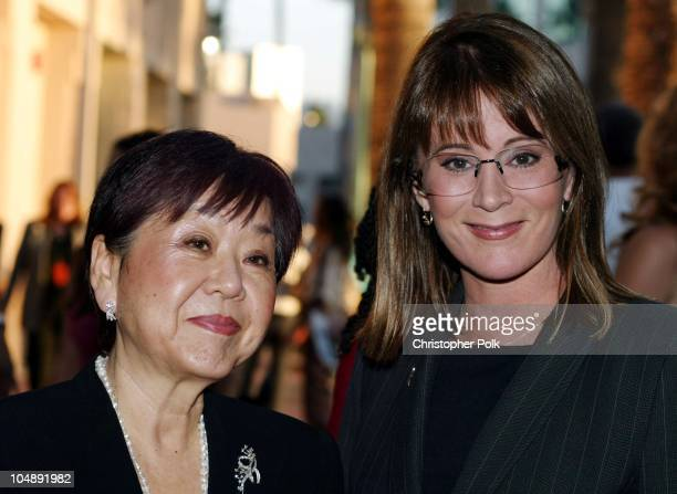 Mary Rose and Patricia Richardson during ATAS Hosts a StarStudded Fashion Show to Benefit Dress for Success at ATAS' Leonard H Goldenson Theatre in...
