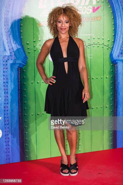 Mary Ruiz attends 'La Lista de Los Deseos' Madrid Premiere photocall at Callao City Lights cinema on July 2 2020 in Madrid Spain This is the first...