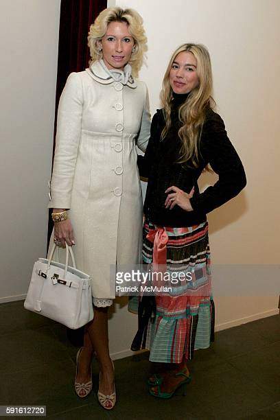 Mary Snow and Alexandra Lind Rose attend New Yorkers for Children Luncheon hosted by Harpers Bazaar and Rena Lange at Rena Lange on November 15 2005...