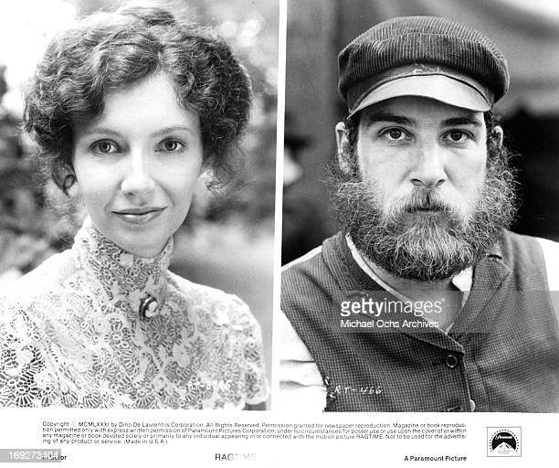 Mary Steenburgen and Mandy Patinkin in various scenes from the film 'Ragtime' 1981 Photo by Paramount/Getty Images