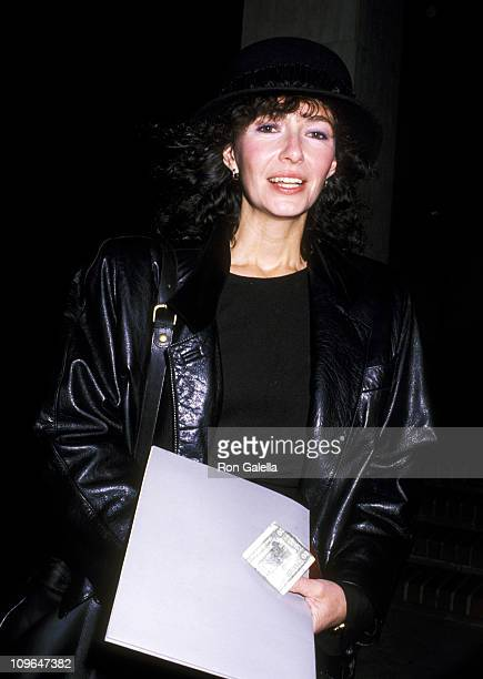 Mary Steenburgen during Art Exhibition Opening to Benefit Amnesty International December 7 1988 at Otis Art Institute in Los Angeles California...