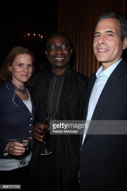 Mary Stengel Youssou Ndour and Richard Stengel attend New York Premiere of Elizabeth Chai Yasarhelyi's YOUSSOU NDOUR I BRING WHAT I LOVE at Paris...