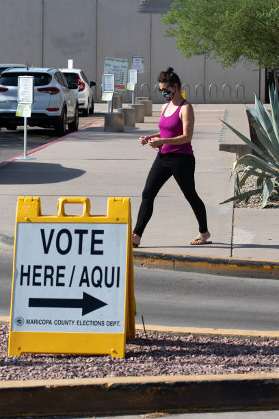 AZ: Voters Head To The Polls For Arizona's Primary Election