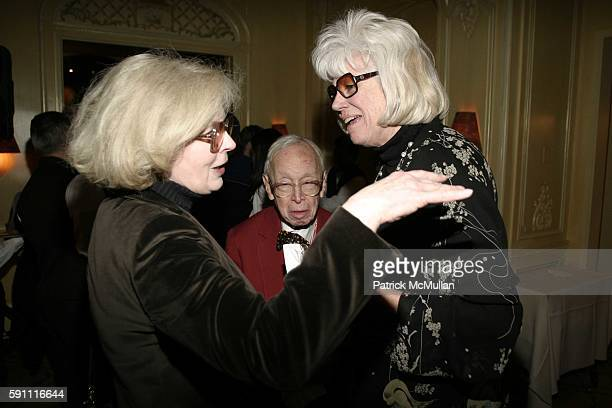 Mary Stone Arthur Schlesinger and Alexandra Schlesinger attend NY Academy Awards Celebration for director Sidney Lumet's Honorary Academy Award at...
