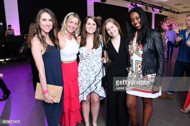 Mary Stone Lydia Hirt Grace Fisher Molly C and Rebecca K attend Planned Parenthood Of New York City Spring Gala Honoring Cecile Richards And Laverne...
