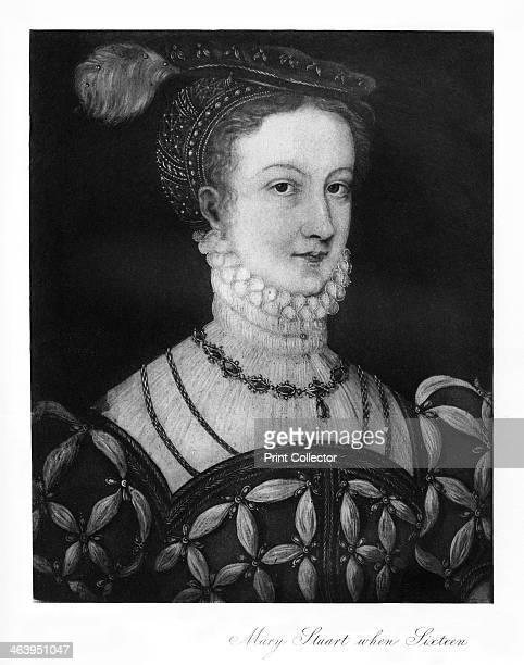 Mary Stuart at sixteen Mary Queen of Scots as a teenager
