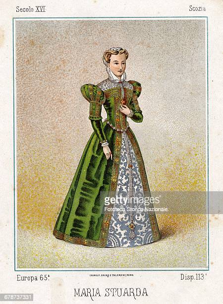 Mary Stuart Fulllength portrait of the Queen of Scots Queen consort of France and Queen of England for the English legitimists era that did not...
