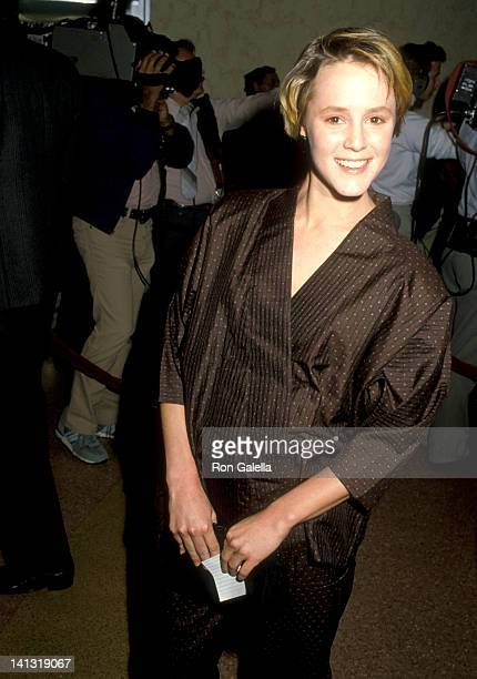 Mary Stuart Masterson at the Premiere of 'At Close Range' Mann Bruin Theatre Westwood