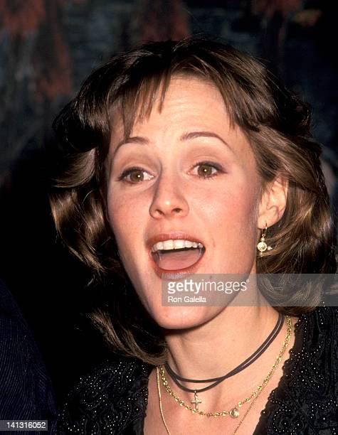 Mary Stuart Masterson at the Premiere Party for 'Benny Joon' Planet Hollywood New York City