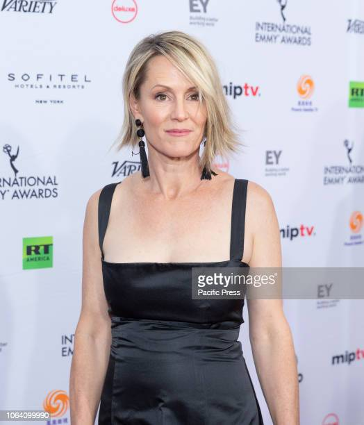 Mary Stuart Masterson attends the 46th Annual International Emmy Awards at New York Hilton