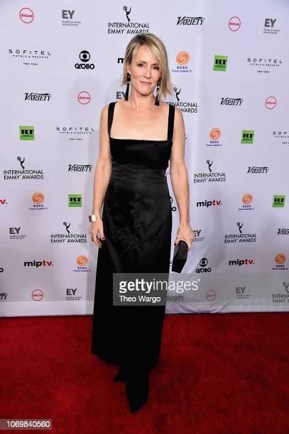Mary Stuart Masterson attends the 46th Annual International Emmy Awards Arrivals at New York Hilton on November 19 2018 in New York City