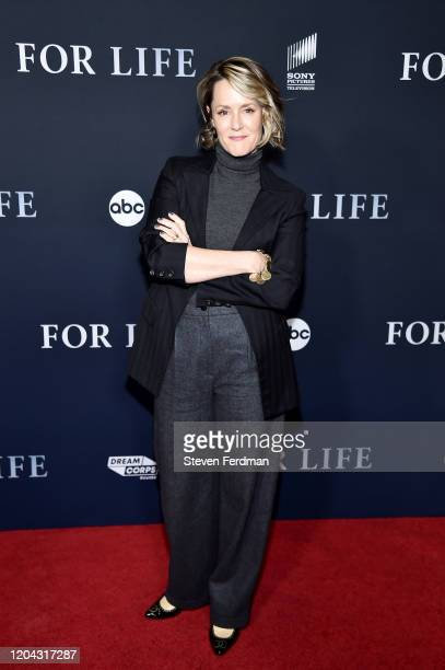 Mary Stuart Masterson attends the New York Premiere of ABC's For Life at Alice Tully Hall Lincoln Center on February 05 2020 in New York City