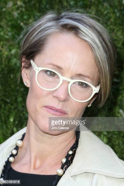 Mary Stuart Masterson attends Through Her Lens The Tribeca Chanel Women's Filmmaker Program Luncheon at Locanda Verde on October 17 2017 in New York...