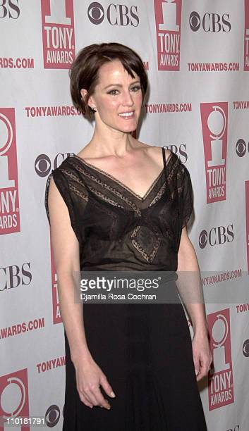 Mary Stuart Masterson during 2003 Tony Awards Nominees Press Reception at New York Marriott Marquis in New York City New York United States
