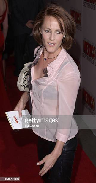 Mary Stuart Masterson during New York Premiere of 'Once Upon a Time in Mexico' Outside Arrivals at Loews Lincoln Square in New York City New York...