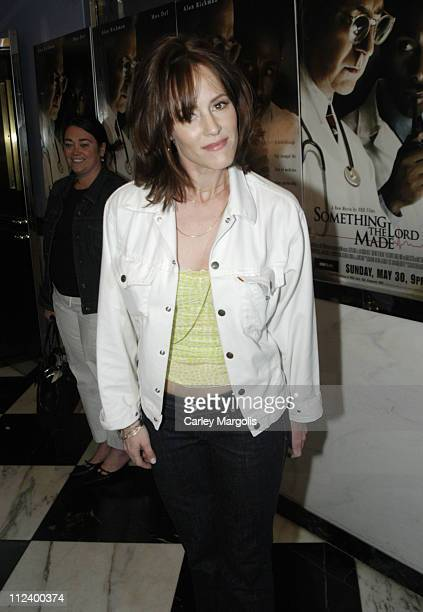 Mary Stuart Masterson during Something The Lord Made New York Premiere at Paris Theatre in New York City New York United States