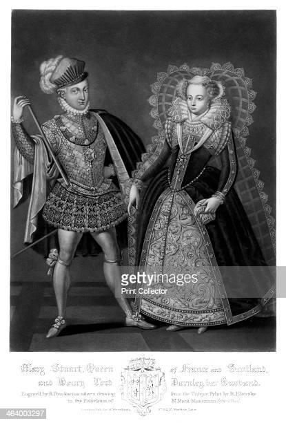 'Mary Stuart, Queen of France and Scotland, and Henry Lord Darnley, Her Husband', . Darnley was the second husband of Mary, Queen of Scots, who had...