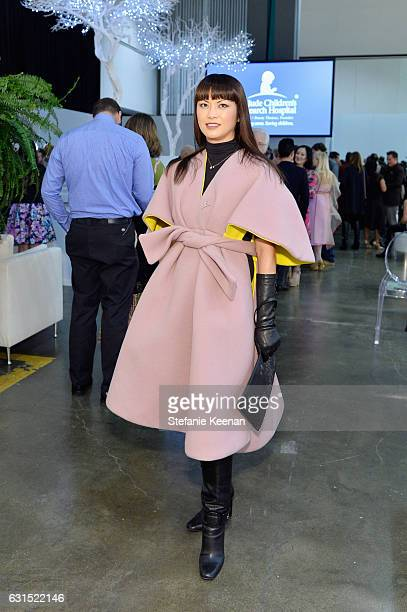 Mary Ta attends the LA Art Show 2017 opening night premiere hosted by Emma Roberts benefiting St Jude Children's Research Hospital at Los Angeles...