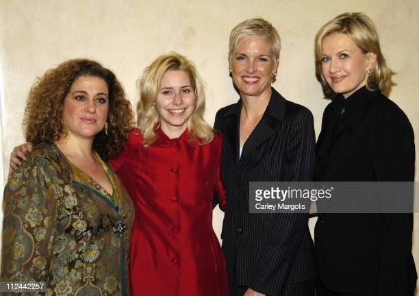 Mary Testa, Nellie McKay, Cecile Richards and Diane Sawyer