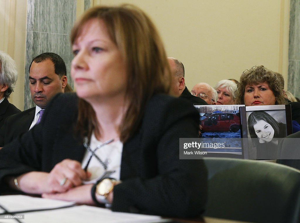 GM CEO Mary Barra Testifies At Senate Hearing On GM Recall