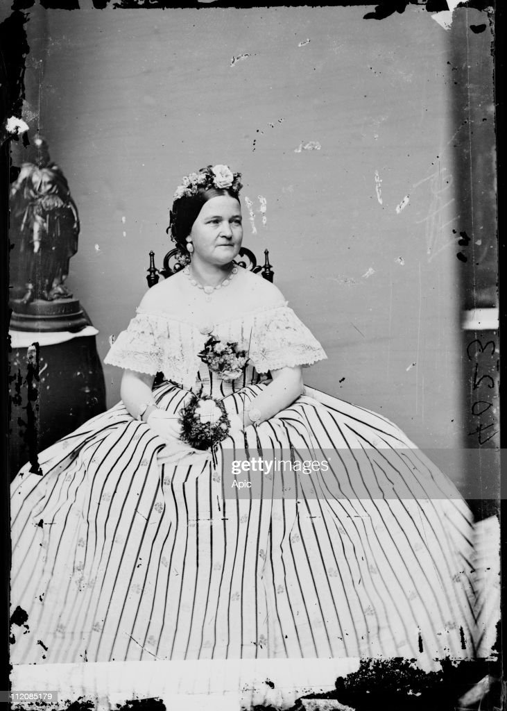Mary Todd Lincoln : News Photo