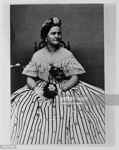 Mary Todd Lincoln the wife of Abraham Lincoln