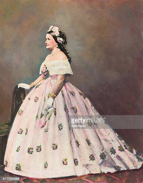 Mary Todd Lincoln wife of President Abraham Lincoln