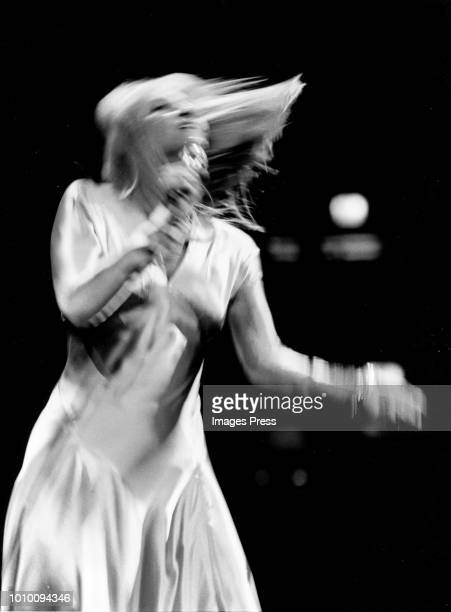 Mary Travers in concert circa 1977 in New York City